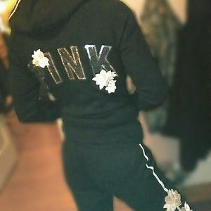 Victoria Secret PINK Bling outfit XS RARE LTD HTF